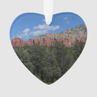 Panorama of Red Rocks in Sedona Arizona Ornament