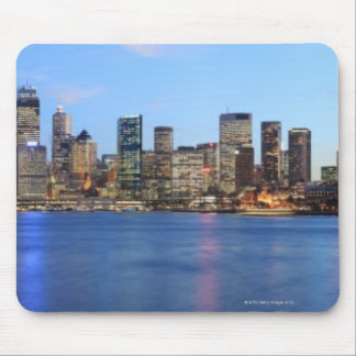 Panorama of Sydney Harbour Bridge at dusk with Mouse Mat