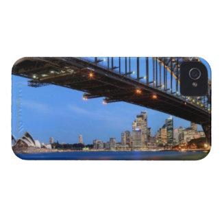 Panorama of Sydney Harbour Bridge, Sydney Opera iPhone 4 Cases