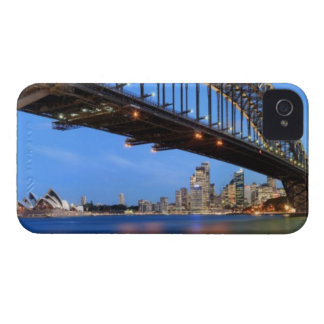 Panorama of Sydney Harbour Bridge, Sydney Opera iPhone 4 Covers