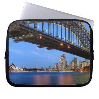 Panorama of Sydney Harbour Bridge, Sydney Opera Laptop Sleeve