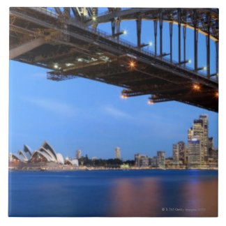 Panorama of Sydney Harbour Bridge, Sydney Opera Tile