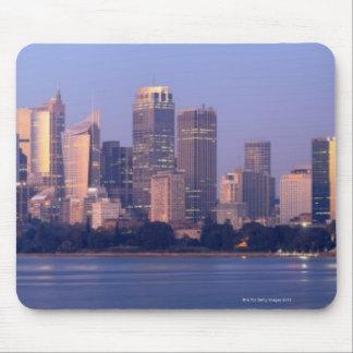 Panorama of Sydney Skyline at Sunset, Australia Mouse Mat