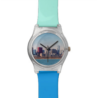 Panorama of the Chicago skyline Watch