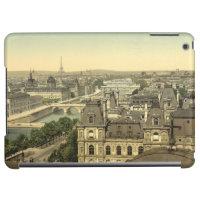 Panorama of the Seven Bridges, Paris, France