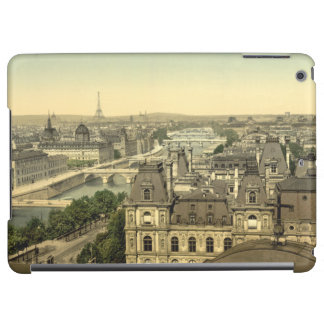 Panorama of the Seven Bridges, Paris, France Cover For iPad Air