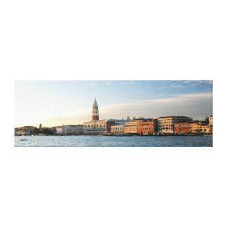 Panorama of Venice Canvas Print