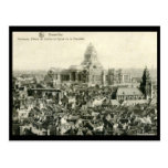 Panorama, Palais de Justice, Brussels Vintage Postcard