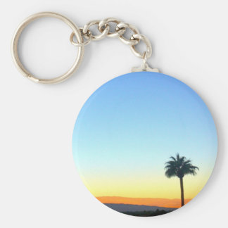 Panorama Palms Key Ring