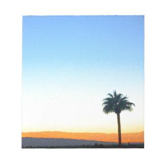 Panorama Palms Notepad