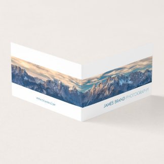 Panorama Photographer Business Card