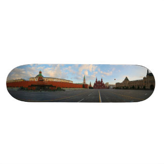 Panorama View of Red Square in Moscow Russia Skate Board