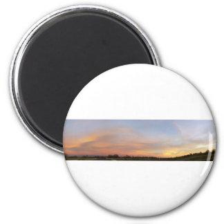 Panoramic 2 6 cm round magnet