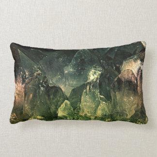 Panoramic Crystal Mountain Lumbar Pillow
