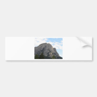 Panoramic mountain view of the Dolomites Bumper Sticker
