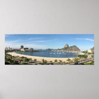Panoramic Rio De Janeiro Poster