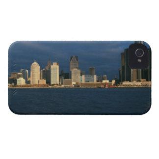 'Panoramic sunrise view of Renaissance Center, Case-Mate iPhone 4 Case