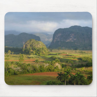 Panoramic valley landscape, Cuba Mouse Mat