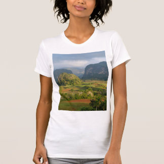 Panoramic valley landscape, Cuba T-Shirt