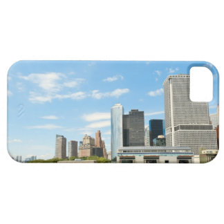 Panoramic view at skyscrapers and Battery park iPhone 5 Cover