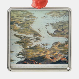 Panoramic view from Spithead to St. Petersburg Christmas Ornament
