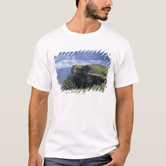 panoramic view of a cliff by the seaside T-Shirt