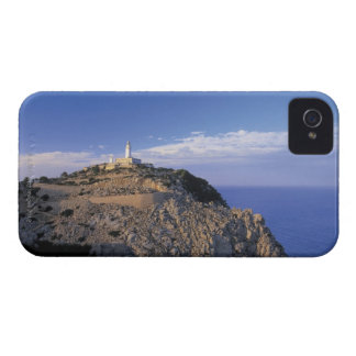 panoramic view of a light house on a cliff iPhone 4 cases