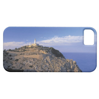 panoramic view of a light house on a cliff iPhone 5 cover