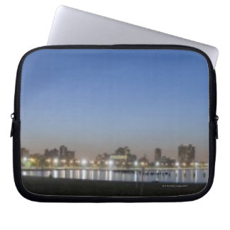 Panoramic view of Chicago s North Avenue Beach Computer Sleeves