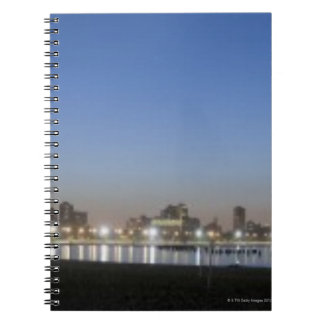 Panoramic view of Chicago s North Avenue Beach Note Books