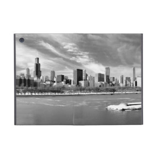Panoramic view of Chicago skyline in winter Cover For iPad Mini