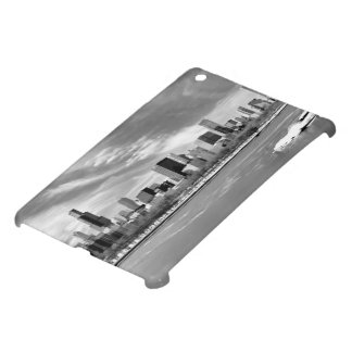 Panoramic view of Chicago skyline in winter iPad Mini Cases