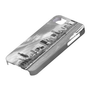 Panoramic view of Chicago skyline in winter iPhone 5 Cover