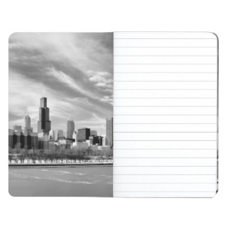 Panoramic view of Chicago skyline in winter Journal