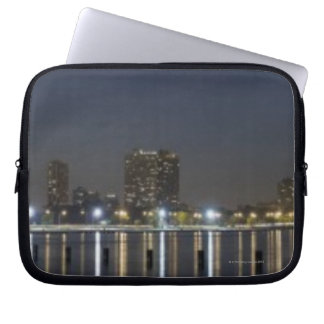 Panoramic view of Chicago's North Avenue Beach 2 Laptop Sleeves