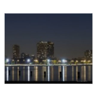 Panoramic view of Chicago's North Avenue Beach 2 Print