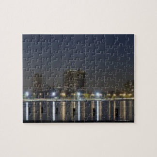Panoramic view of Chicago's North Avenue Beach 2 Puzzles
