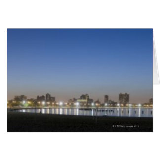 Panoramic view of Chicago's North Avenue Beach Greeting Card