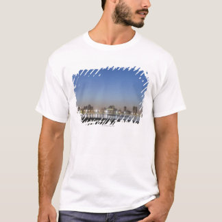 Panoramic view of Chicago's North Avenue Beach T-Shirt