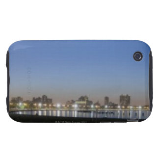 Panoramic view of Chicago's North Avenue Beach Tough iPhone 3 Covers