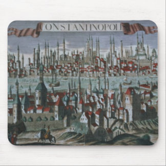 Panoramic view of Constantinople, late 18th centur Mouse Mat