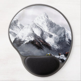 Panoramic View Of Everest Mountain Gel Mouse Mat
