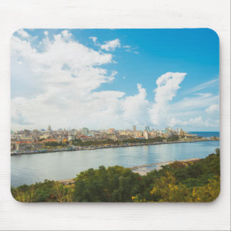 Panoramic View Of Havana, Cuba Mouse Mat