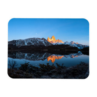Panoramic View Of Lake Capri, Patagonia Rectangular Photo Magnet