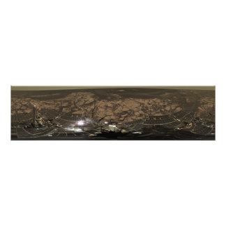 Panoramic view of Mars 3 Art Photo