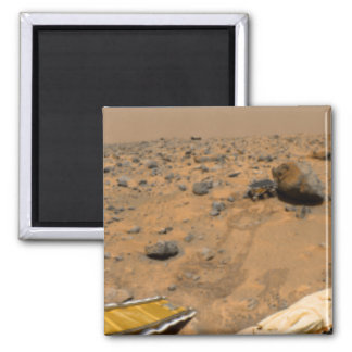 Panoramic view of Mars 5 Square Magnet