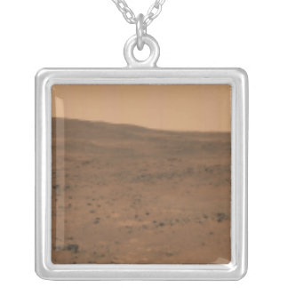 Panoramic view of Mars 8 Silver Plated Necklace
