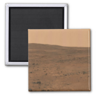 Panoramic view of Mars 8 Square Magnet