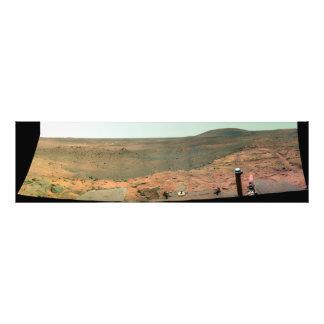 Panoramic view of Mars Photo Art