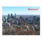Panoramic view of Montreal Postcard